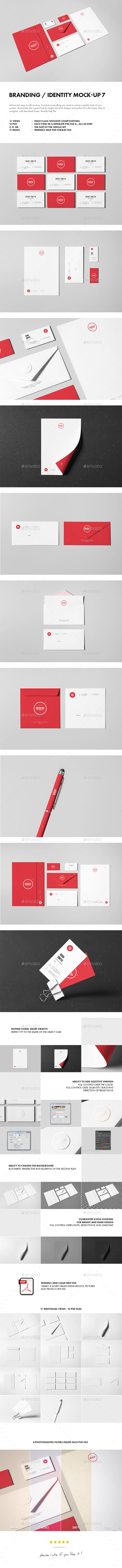 Branding / Identity Mock-up 7 (Stationery)