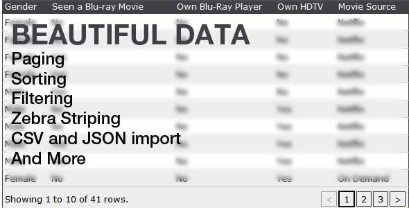 CodeCanyon Beautiful Data 132137