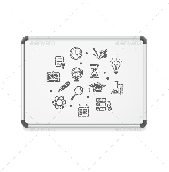 GraphicRiver Whiteboard Concept 10625466