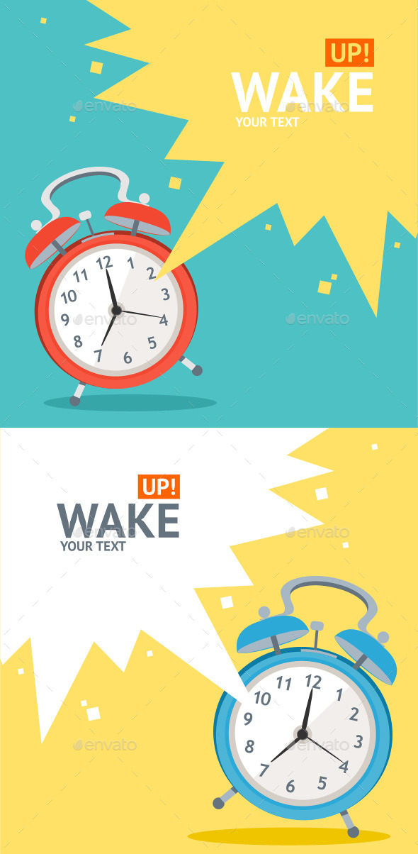 GraphicRiver Wake Up Clock 10625651