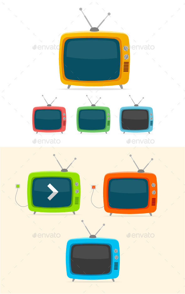GraphicRiver Retro TV 10625850