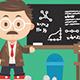 Professor Mascot - GraphicRiver Item for Sale