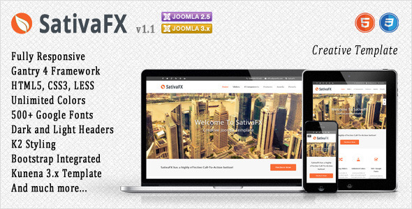 SativaFX - Creative Joomla Template - Creative Joomla