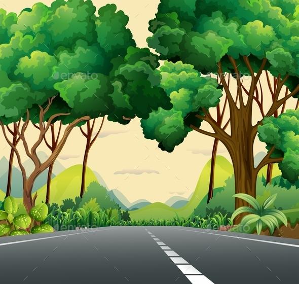 GraphicRiver A Narrow Road 10627911