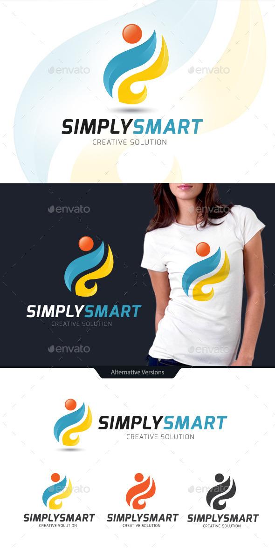 GraphicRiver Simply Smart S Logo 10627959