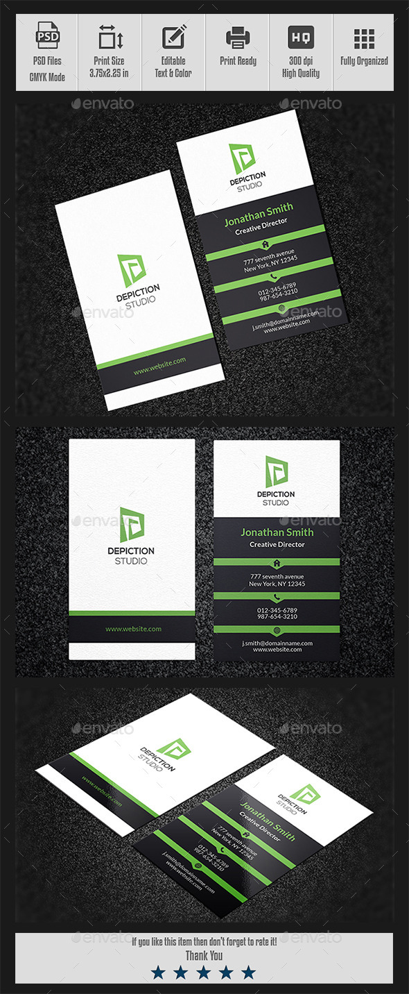 GraphicRiver Corporate Business Card-001 10366017