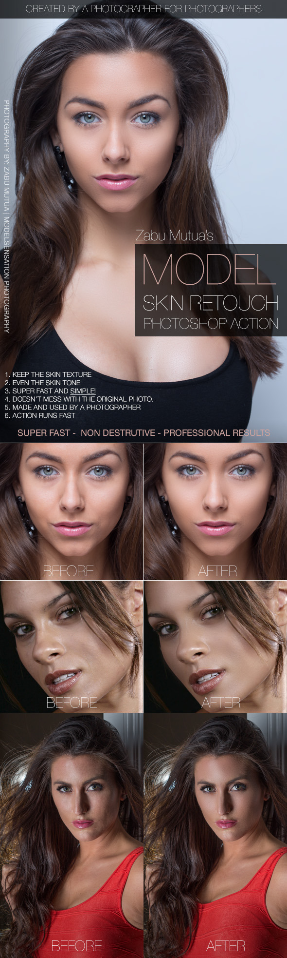 GraphicRiver Model Skin Retouch 10628342