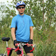male cyclist with bike - PhotoDune Item for Sale