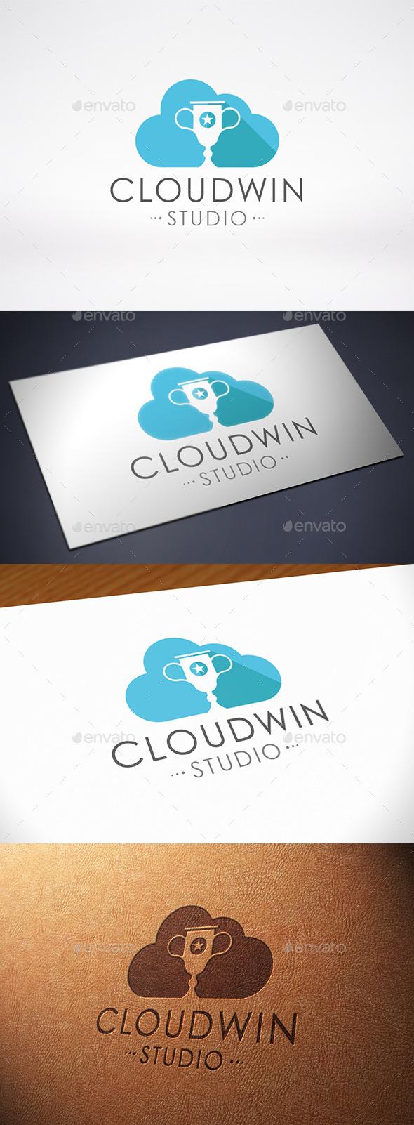 GraphicRiver Champion Cloud Logo Template 10628842