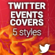Twitter Events Covers  - GraphicRiver Item for Sale