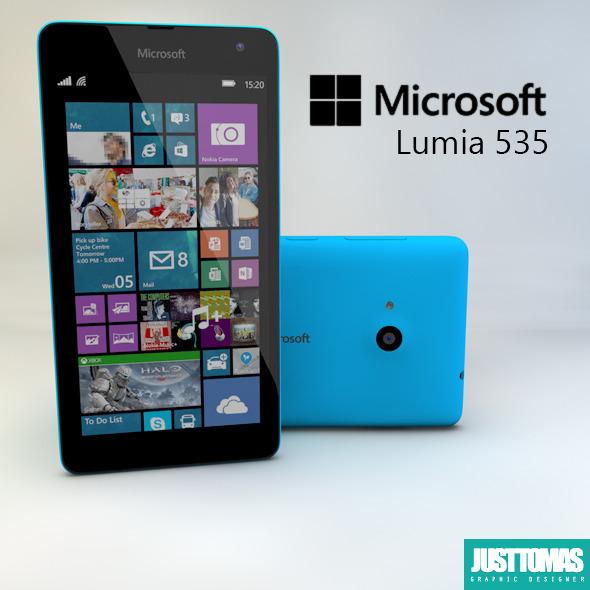 3DOcean Microsoft Lumia 535 10629063