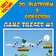 2D Platform & Sidescroll Tileset #1 - GraphicRiver Item for Sale