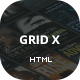 Grid X - Advanced Square Portolio Dynamic Template