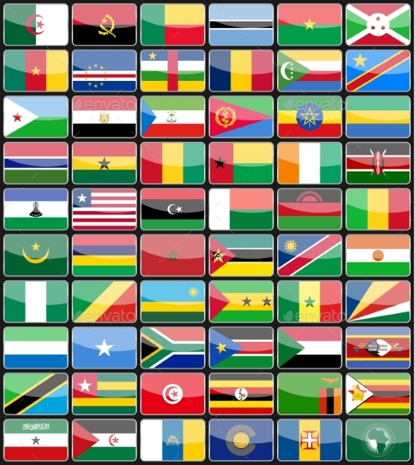 GraphicRiver Flags of the Countries 10629296