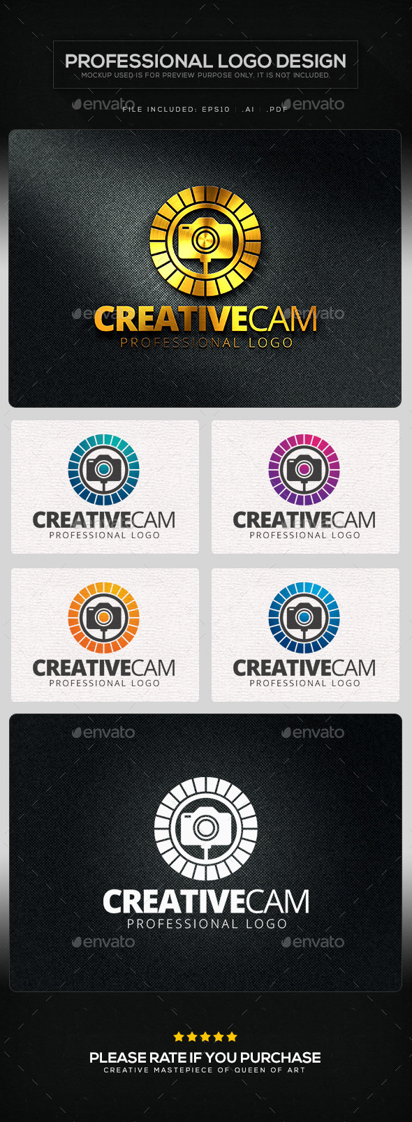 GraphicRiver Creative Cam V.2 Logo Template 10629359