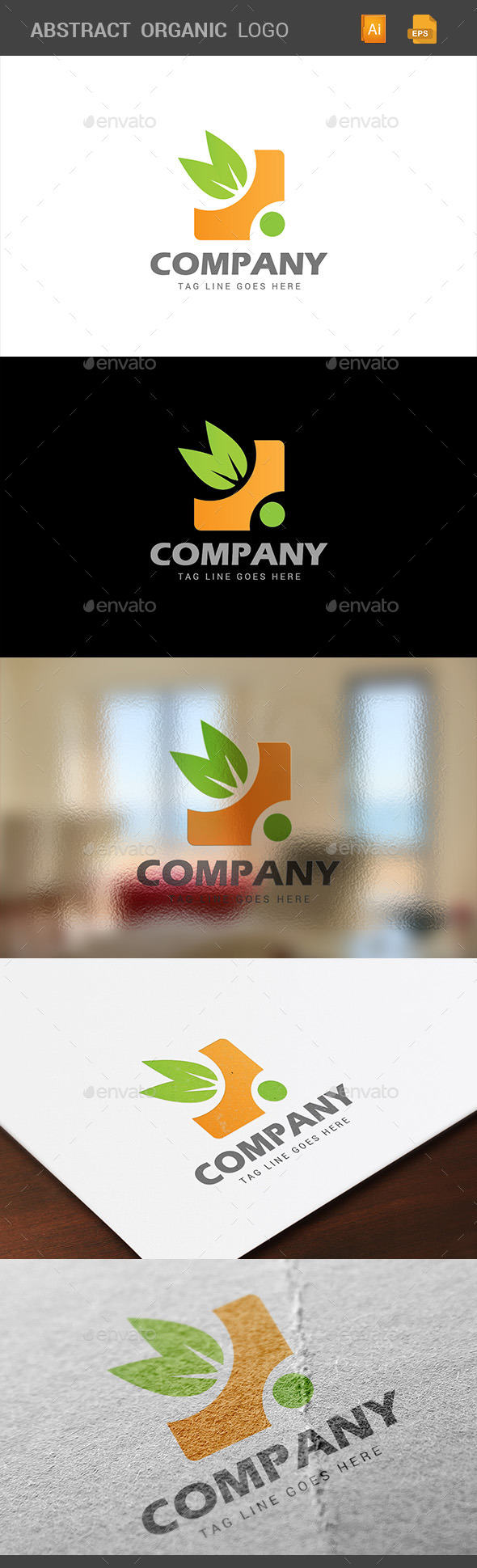 GraphicRiver Organic Abstract Logo 10629505