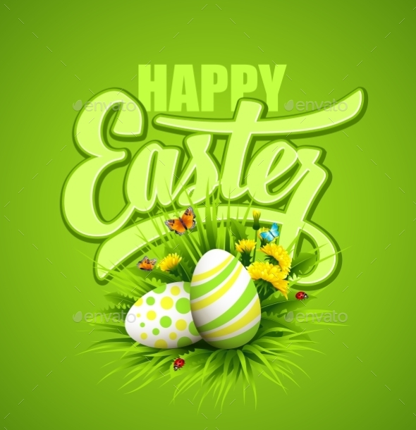 GraphicRiver Easter Greeting 10629574