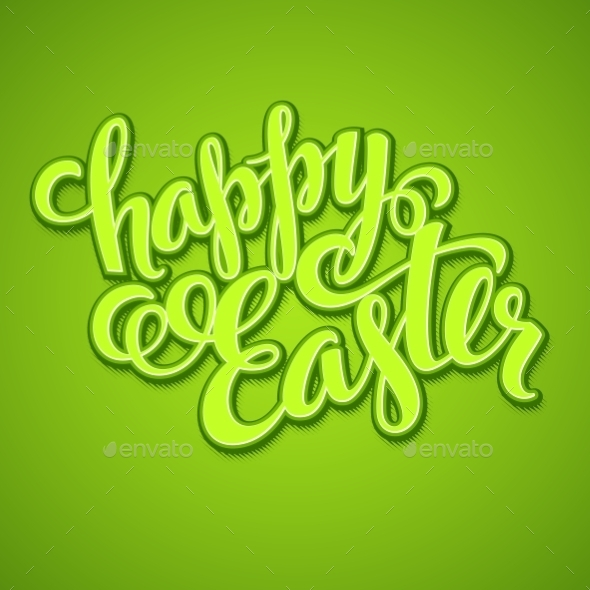 GraphicRiver Title Happy Easter 10629575