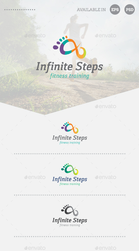 GraphicRiver Fitness Training Logo Template 10629578