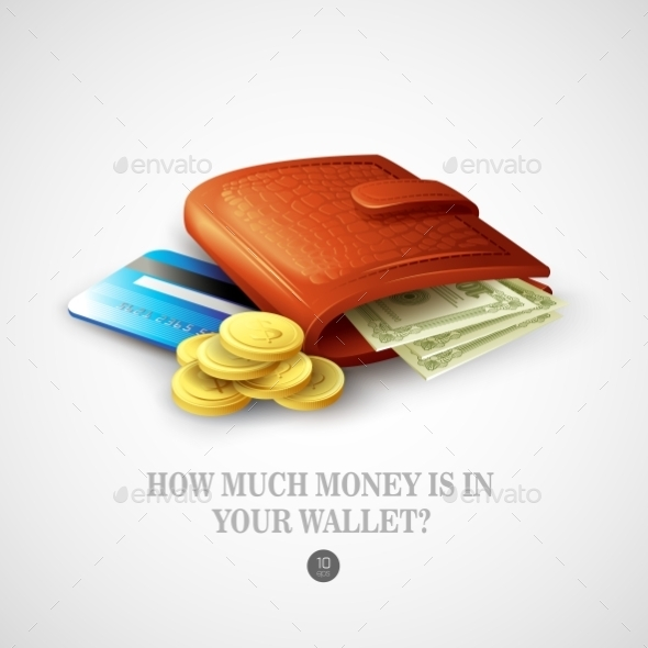 GraphicRiver Purse with Money 10629746