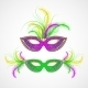 Mardi Gras Carnival Mask - GraphicRiver Item for Sale