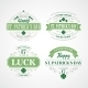 Typography St. Patricks Day - GraphicRiver Item for Sale