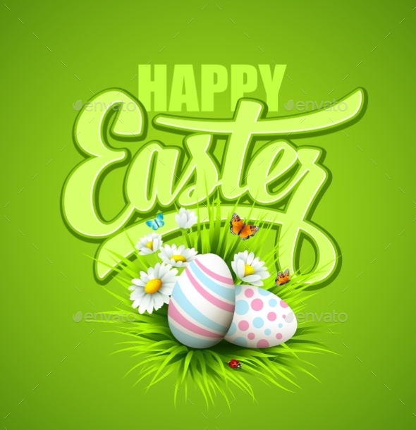 GraphicRiver Easter Greeting 10630399