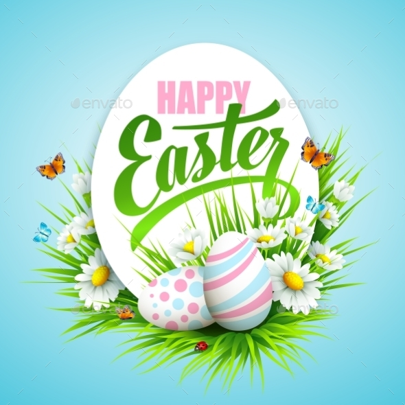 GraphicRiver Easter Poster 10630401