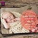 Baby Announcement Template - Vol.5 - GraphicRiver Item for Sale