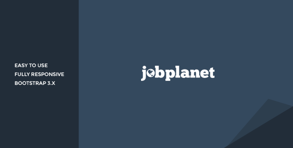 ThemeForest Jobplanet Responsive Job Board HTML Template 10630468