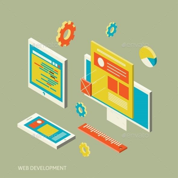 GraphicRiver Mobile and Desktop Website Development 10630471