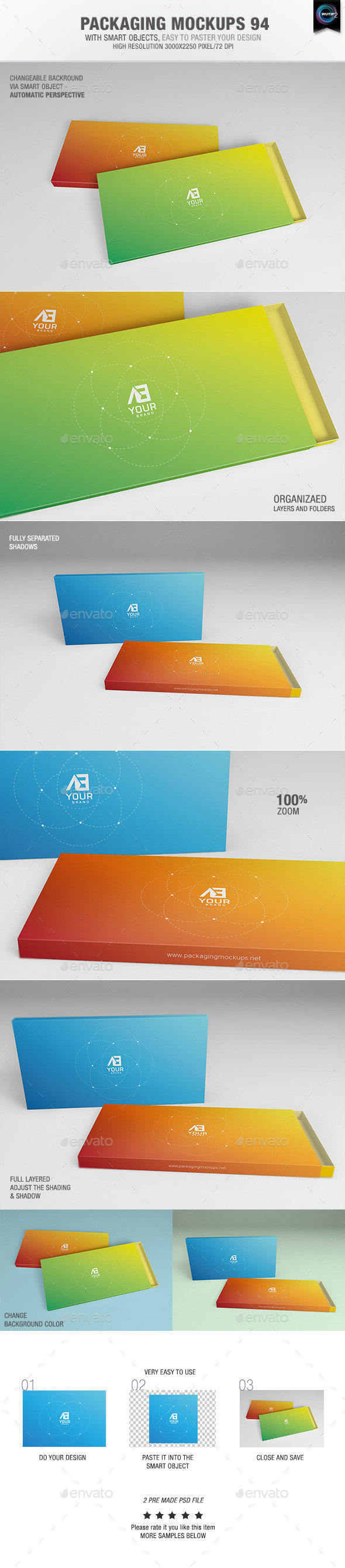 GraphicRiver Packaging Mock-ups 94 10630473