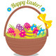 Basket of Easter Eggs - GraphicRiver Item for Sale