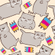 Cats Patterns Set - GraphicRiver Item for Sale