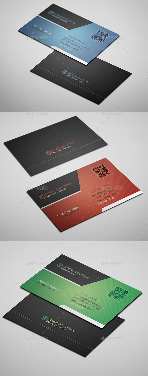 GraphicRiver Corporate Business Card 13 10634398