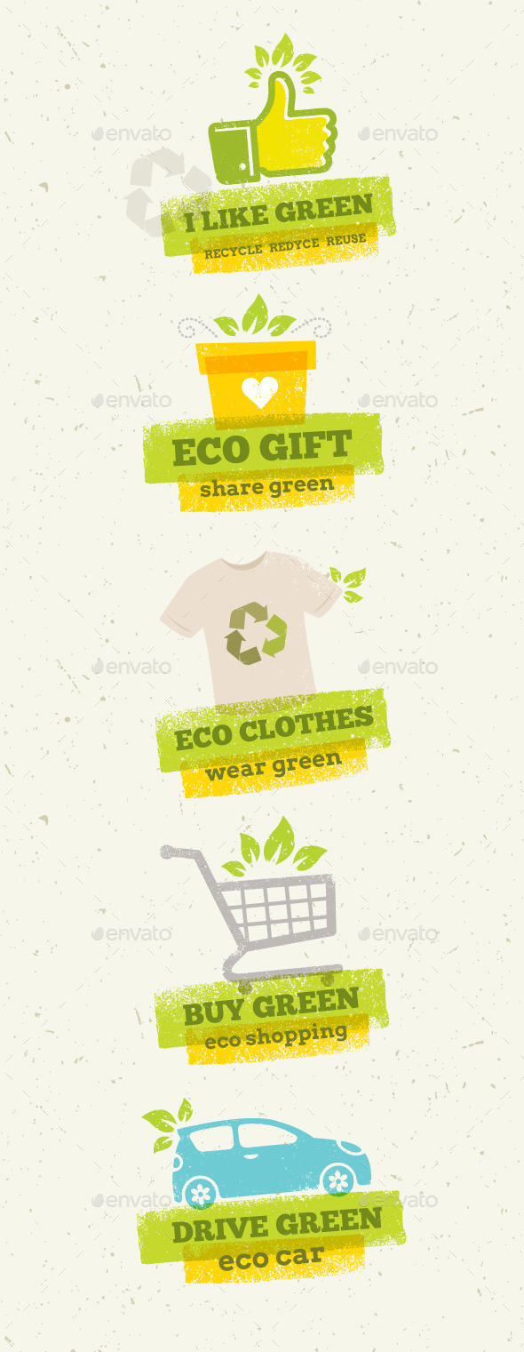 GraphicRiver Eco Green Design Elements 10634509