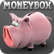 Pig Bank Moneybox, Piggy Thrift-Box - GraphicRiver Item for Sale