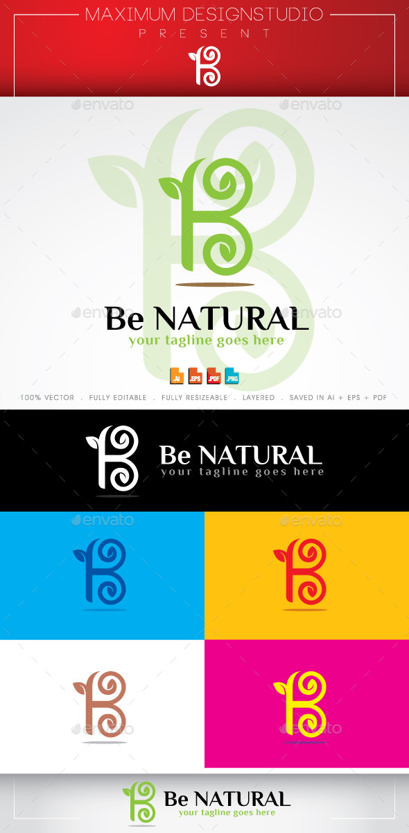 GraphicRiver Be Natural 10636302