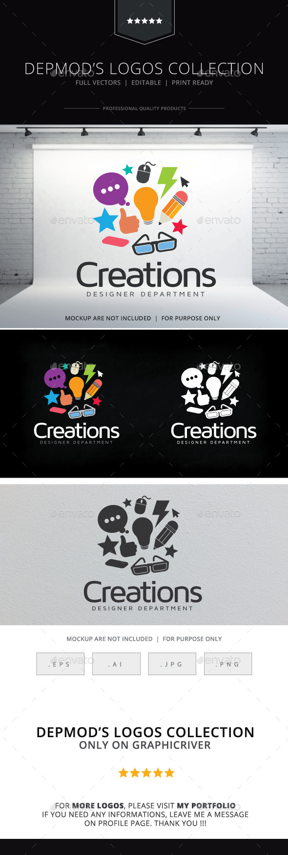 GraphicRiver Creations Logo 10636446