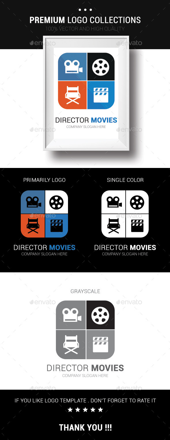 GraphicRiver Director Movies 10636726