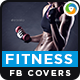 2 Fitness Facebook Covers - GraphicRiver Item for Sale