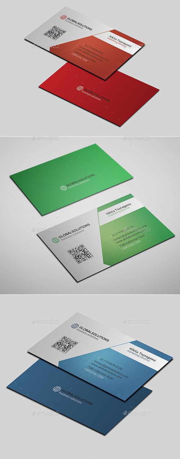 GraphicRiver Corporate Business Card 15 10636732
