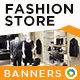 Fashion Store Banners - GraphicRiver Item for Sale