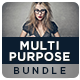 Multipurpose Banners Bundle - 4 Sets