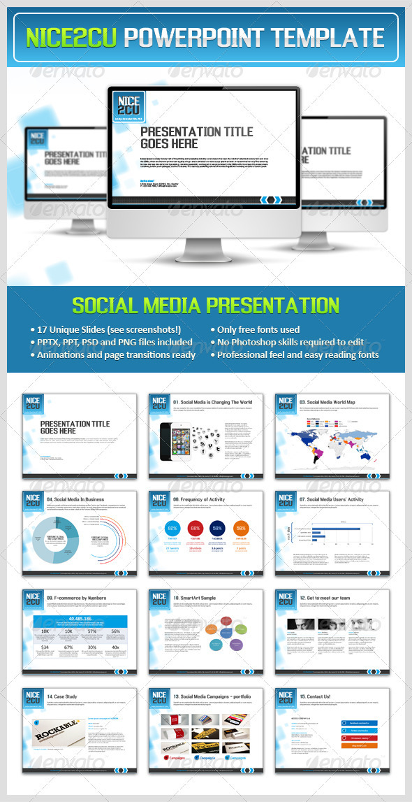 GraphicRiver Nice2cu Powerpoint Presentation 1070977
