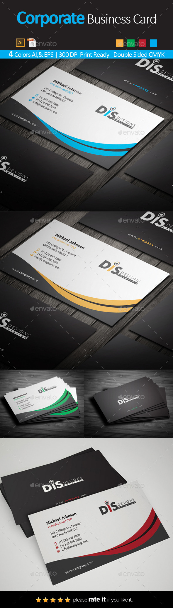 GraphicRiver Business Card 10636866