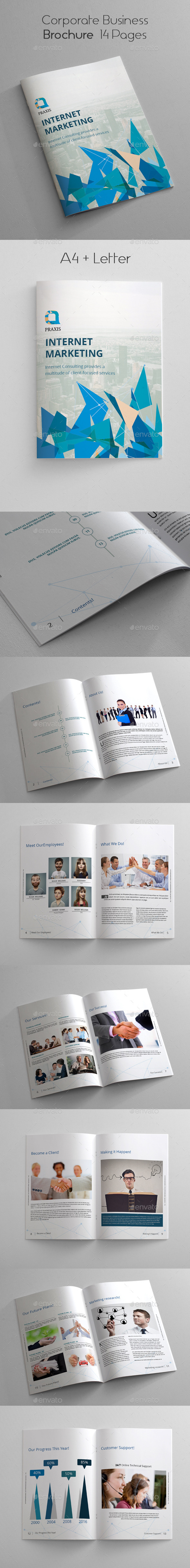 GraphicRiver Corporate Business Brochure 14 Pages 10636870