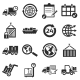 Logistics Icons - GraphicRiver Item for Sale