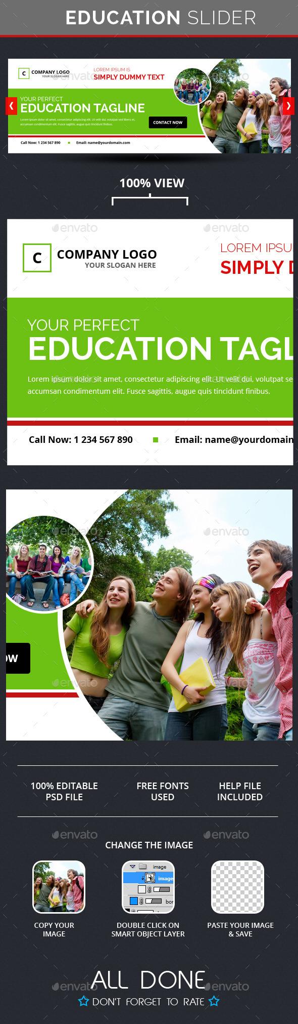 GraphicRiver Education Slider 10638174