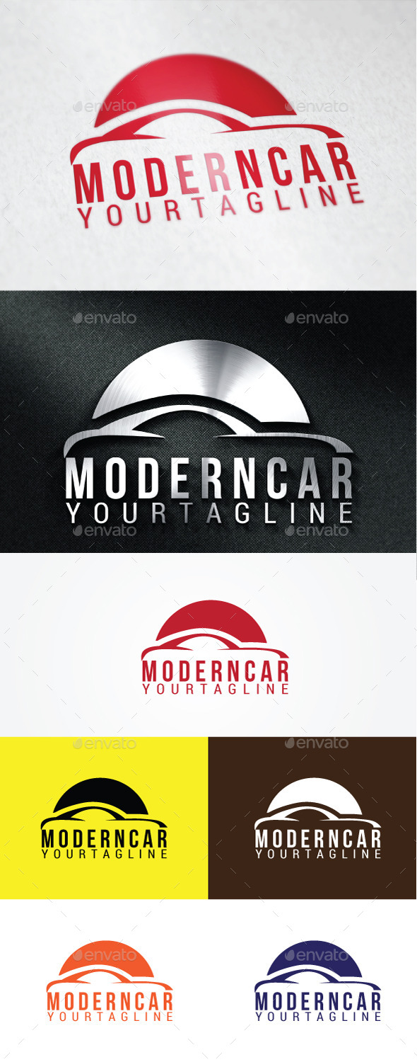 GraphicRiver Modern Car Logo Templates 10638279